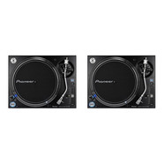 Pioneer DJ - Turntable DJ Set (2x PLX-1000) Bundle