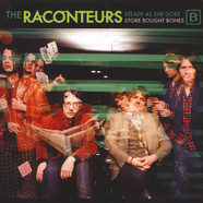 Raconteurs, The - Steady, As She Goes / Store Bought Bones Green Vinyl Edition
