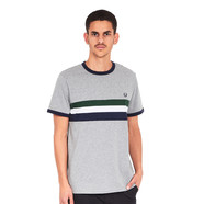 Fred Perry - Striped Panel Ringer T-Shirt