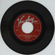 Billy Boy - I Ain't Got You / Don't Stay Out All Night
