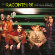 Raconteurs, The - Steady, As She Goes / Store Bought Bones Black Vinyl Edition