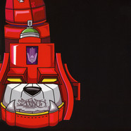 DJ Qbert - Super Seal Giant Robo V.5 (Left Foot) Red Vinyl Edition
