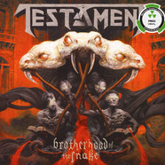 Testament - Brotherhood Of The Snake Bone Red Vinyl Edition