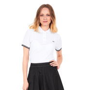 Fred Perry - Mesh Collar Pique Polo Shirt
