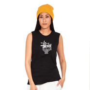 Stüssy - Big Cities Raw Edge Muscle Top