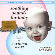 Raymond Scott - Soothing Sounds For Baby Volume 1-3 Colored Vinyl Edition