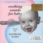 Raymond Scott - Soothing Sounds For Baby Volume 1-3 Black Vinyl Edition
