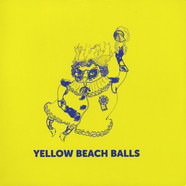 Yellow Beach Balls - Space Cat