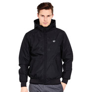 Fred Perry - Quilted Hooded Brentham Jacket