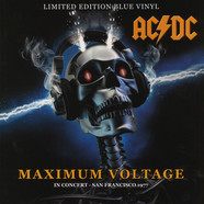 AC/DC - Maximum Voltage: In Concert San Francisco 1977 - Blue Vinyl Edition
