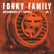 Fonky Family - Instrumentaux Et A Capella Volume 2 Clear Green Vinyl Edition