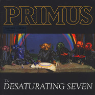 Primus - The Desaturating Seven Clear With Rainbow Splatter Colored Vinyl Edition