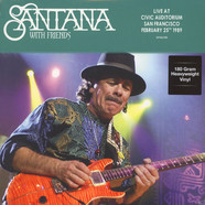 Santana with Friends - Live At Civic Auditorium In San Francisco February 25 1989