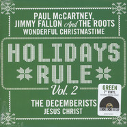 Paul McCartney & The Roots / The Decemberists - Holidays Rule Volume 2 Green Vinyl Edition