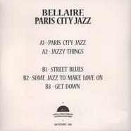 Bellaire - Paris City Jazz EP