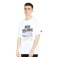 New Balance - MT81567 WT Tee