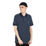 Lacoste - Striped Pique Polo Shirt