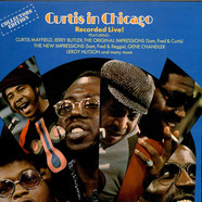 Curtis Mayfield - Curtis In Chicago - Recorded Live