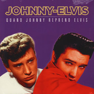Johnny Hallyday / Elvis Presley - Johnny Reprend Elvis RSD 2018 Red Vinyl Edition