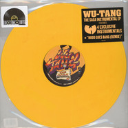 Wu-Tang Clan - The Saga Instrumentals Yellow Vinyl Edition