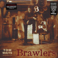 Tom Waits - Brawlers Translucent Red Vinyl Edition
