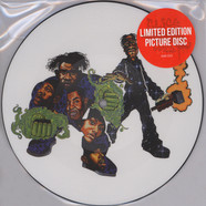 Organized Konfusion - Stress Large Pro Remix Picture Disc Edition