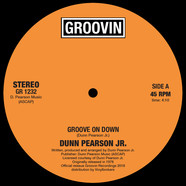 Dunn Pearson Jr. - Groove On Down