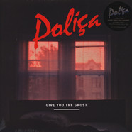 Polica - Give You The Ghost  Red Marbled Vinyl Edition