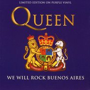 Queen - We Will Rock Buenos Aires Purple Vinyl Edition