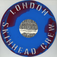 Booze & Glory - London Skinhead Crew Claret & Blue Vinyl Edition