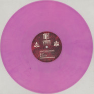Deathmachine - Nasty / World's End Clear & Solid Purple Mixed Vinyl Edition