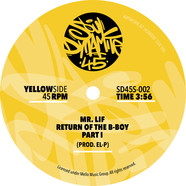 Mr. Lif - Return Of The B-Boy Black Vinyl Edition