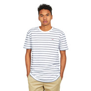 Cleptomanicx - Double Stripe T-Shirt