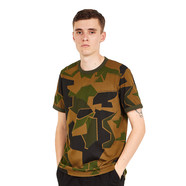 Fred Perry x Arktis - Camouflage Ringer T-Shirt