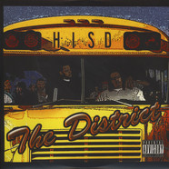 H.I.S.D. (Hueston Independent Spit District) - The District White & Yellow Vinyl Edition