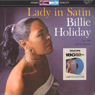 Billie Holiday - Lady In Satin Blue Vinyl Edition