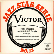 Fats Waller And His Big Band - 14 Original Recordings From 1938-1942