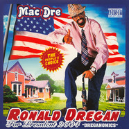 Mac Dre - Dreganomics Red, White & Blue Starburst Vinyl Edition