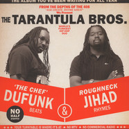 Tarantula Brothers - Roughneck Jihad + Du Funk   Red Colored Inyl Edition