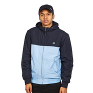 Fred Perry - Hooded Panelled Quilted Jacket