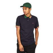 Fred Perry - Abstract Collar Pique Shirt
