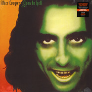 Alice Cooper - Alice Cooper Goes To Hell Orange Vinyl Edition