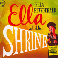Ella Fitzgerald - Ella At The Shrine Translucent Yellow Colored Vinyl Edition