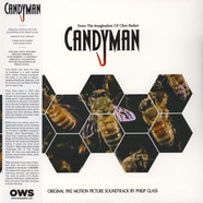 Phillip Glass - OST Candyman (Original 1992) Limited Black Vinyl Edition With Obi-Strip