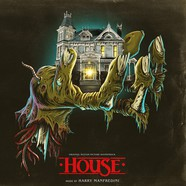 Harry Manfredini - OST House 1 & 2 Crystal Skull Blue Vinyl Colored Edition