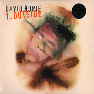 David Bowie - 1. Outside Tri-Fold Cover Audiophile White & Black Swirl Vinyl Edition