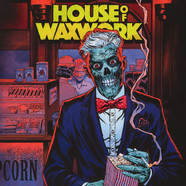 House Of Waxwork - Issue 2 Nowhere Wolf Cover Edition / OST Blood Puddle Clear Colored Vinyl