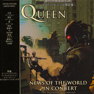 Queen - News Of The World In Concert Green Vinyl Edition