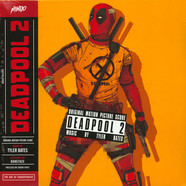 Tyler Bates - OST Deadpool 2 Black Stripes On Red Vinyl Edition