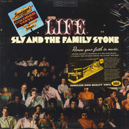 Sly & The Family Stone - Life Yellow Vinyl Edition